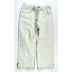 Christopher & Banks High Waist Straight Leg Jeans